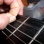 first and second frets